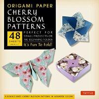 """【预订】Origami Paper - Cherry Blossom Patterns - Large - 8 1/4"""""""