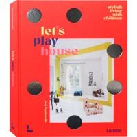 Let's Play House 儿童家居空间设计 儿童房设计 室内设计书籍