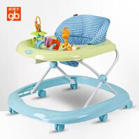 gb好孩子婴儿学步车多功能防侧翻宝宝学步车学行车7-18个月可折叠XB109E