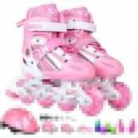 男女儿童旱冰鞋轮滑鞋3-4-5-6-7-8-9-10-12岁男孩女孩儿童溜冰鞋全套小孩旱冰鞋轮滑鞋