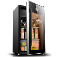 冰吧冷藏茶叶雪茄柜红酒柜恒温家用保鲜柜 黑色