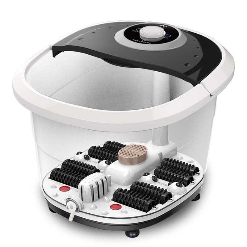 你我他足浴盆器全自动加热脚动按摩盆泡脚桶家用恒温足疗机