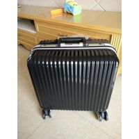 登机箱迷你16寸小型18寸横款旅行箱商务拉杆行李箱男女密码箱包