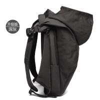 ?户外大师防水背包电脑双肩包男书包时尚潮流简约大容量旅行包?