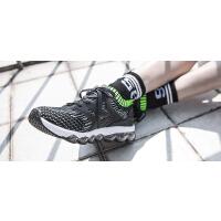 特步女鞋跑步鞋2019夏季新款网面透气运动鞋女正品白气垫休闲鞋子982118119528