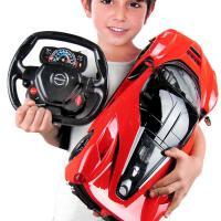 遥控汽车玩具男孩3-8岁充电无线高速赛车四驱漂移跑车电动4儿童