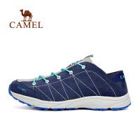 【满259减200元】camel骆驼户外情侣款徒步鞋 耐磨吸汗透气男女户外鞋