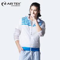 【断码清仓】AIRTEX亚特防晒透气抗紫外线登山旅行运动男式皮肤风衣