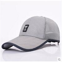 男士户外遮阳帽 潮户外防晒遮阳网帽韩版太阳帽棒球帽透气凉帽鸭舌帽