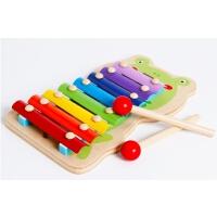 儿童音乐敲琴玩具 1-2-3岁婴幼儿宝宝八音琴玩具 小木琴 手敲打琴