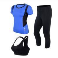 瑜伽服套装显瘦女新款宽松初学者跑步服装女套装运动速干显瘦