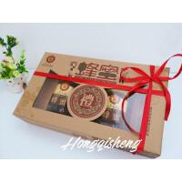 蜂蜜包装盒子礼盒包装蜂蜜礼品包装盒蜂蜜包装牛皮盒现货新品