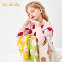 巴拉巴拉女童毛衣儿童针织衫秋冬童装女大童洋气 打底衫