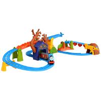 [当当自营]托马斯和朋友 电动火车系列 幽灵探险之旅套装 儿童情景轨道玩具 BMF09
