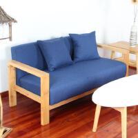 小户型双人布艺沙发单人沙发椅卧室三人位客厅咖啡厅布艺沙发组合