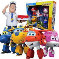 奥迪双钻超级飞侠玩具大号变形机器人全套装小飞侠玩具