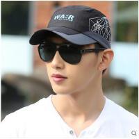 青年透气棒球帽男太阳帽帽子男士夏天韩版潮户外运动速干帽鸭舌帽
