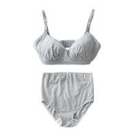 网易严选 孕产妇哺乳文胸内裤套装