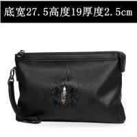 男士手包韩版休闲大容量手拿包软皮手拎包夹包时尚信封包