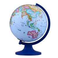 博目地球仪:凯迪25cm中英文政区少儿趣味地球仪(儿童地理启蒙,儿童房装饰)