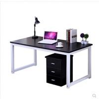 简约现代台式电脑桌会议桌子家用书桌简易双人办公桌笔记本桌定制