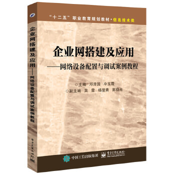 企业网搭建及应用(pdf+txt+epub+azw3+mobi电子书在线阅读下载)