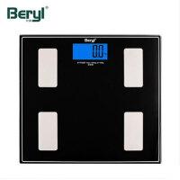 贝雅BYF06BT智能体重秤家用电子称健康秤精准体脂秤人体蓝牙脂肪秤成人体重秤 多功能蓝牙脂肪秤 可连接手机管理身材