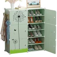 简易经济型鞋架子家用组装宿舍防尘多层塑料放门口小鞋柜收纳神器