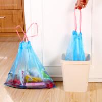 2019122212224259510卷装手提式垃圾袋加厚彩色家用一次性自动收口厨房塑料袋中大号