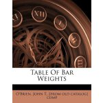Table Of Bar Weights [ISBN: 978-1246557305]