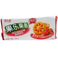 嘉士利 果乐果香 205g 五种味道任选 果酱味夹心饼干 休闲零食