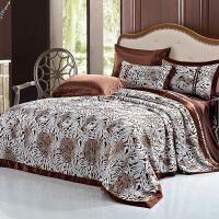 真丝四件套100桑蚕丝床上用品宽幅丝绸婚庆家纺真丝床品套件
