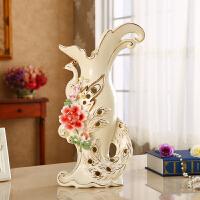 欧式陶瓷装饰品摆件创意花瓶花插客厅工艺品电视柜酒柜新结婚礼物