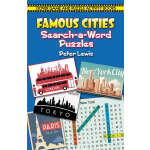 Famous Cities Search-a-Word Puzzles (【按需印刷】)