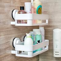 dehub浴室置物架 吸盘置物架 卫生间收纳架 洗手间厕所化妆品收纳置物架壁挂