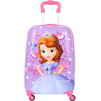 可爱拉杆箱万向轮女宝宝密码卡通小孩行李箱男18/16英寸学生旅行箱拉杆书包可商务