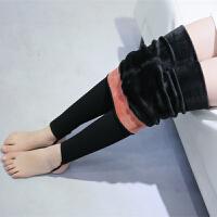 女童打底裤秋加绒加厚儿童连裤袜外穿踩脚保暖裤宝宝打底袜子