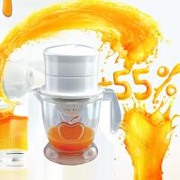 多功能果汁机家用手动榨汁机手动水果多用榨汁器橙汁橙子柠檬榨汁器水果原汁机炸果汁机