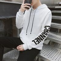 连帽卫衣男春秋款2018秋季新款男装韩版嘻哈港风青少年运动外套潮DJ-A790卫衣