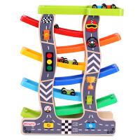 儿童益智力玩具车滑翔1-2-3周岁宝宝轨道男孩惯性工程回力小汽车