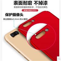 oppor11手机壳女款超薄磨砂硬壳个性创意全包r11plus防摔软套潮男