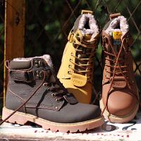 秋冬新款马丁靴真皮短靴子女鞋学生英伦风复古鞋情侣款雪地靴男鞋