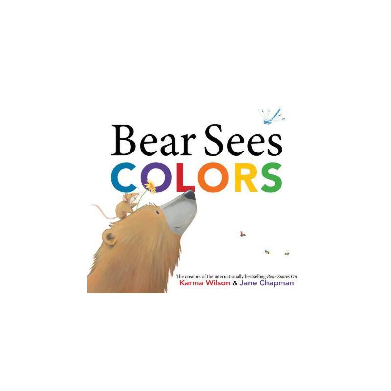 【预订】Bear Sees Colors 预订商品,需要1-3个月发货,非质量问题不接受退换货。