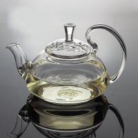 20191214093258355650ML耐热玻璃壶 高把压盖花壶花茶壶功夫红茶具泡茶杯冲茶器
