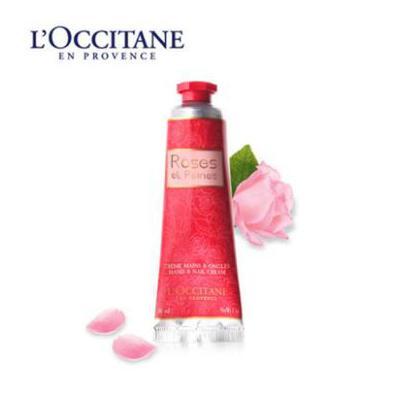 Loccitane 欧舒丹 玫瑰手霜30ml 夏季护肤 防晒补水保湿 可支持礼品卡