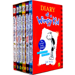 Diary of a Wimpy Kid  - (Boxed Set Books #1-6) 小屁孩日记套装(英国版,1-6)ISBN 9780141345093