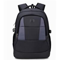 休闲双肩包男士背包大 高学生书包商务旅行包电脑包