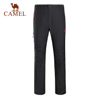 camel骆驼户外冲锋裤 男款防风防水保暖冲锋长裤
