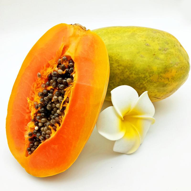 【海南特产】乐食汇 海南红心木瓜2kg装 约2-4个