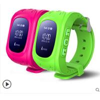 儿童定位手表智能穿戴手环 学生小孩防丢失GPS定位器可插卡通话
